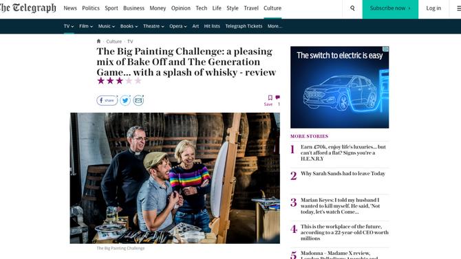 Press Coverage: The Telegraph