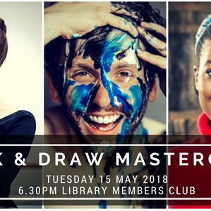 Drink and Draw Masterclass - Portraits