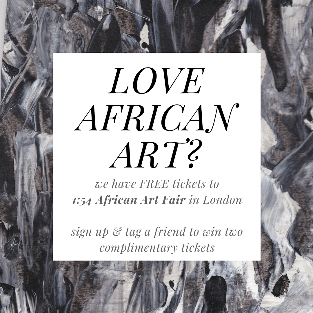 Free 154 African Art Fair Tickets