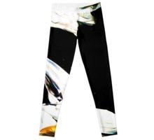 Designer Leggings, ballet tights, yoga pants, yoga leggings , art by bokani  (1)