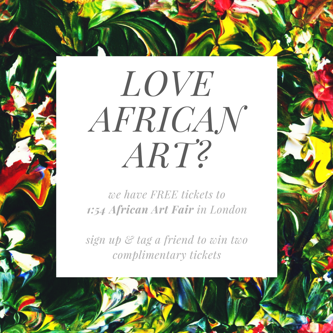 Free 154 African Art Fair Tickets (2)