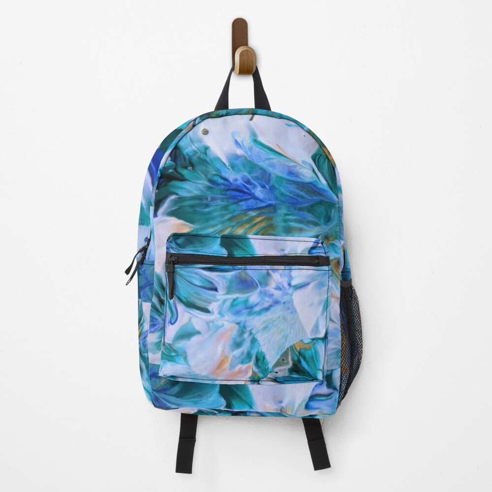 DESIGNER BACKPACK, ART BY BOKANI, FaSHION BACK PACK supreme