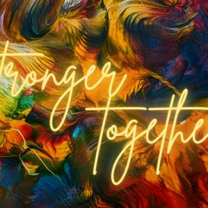 Stronger together #BlackOutdoorArt
