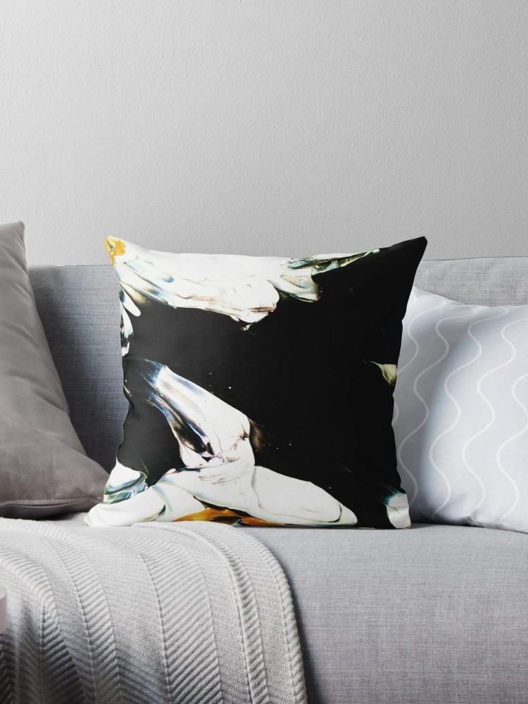 Print cushion cover, designer cushion, artist print cushion, art by bokani (1)