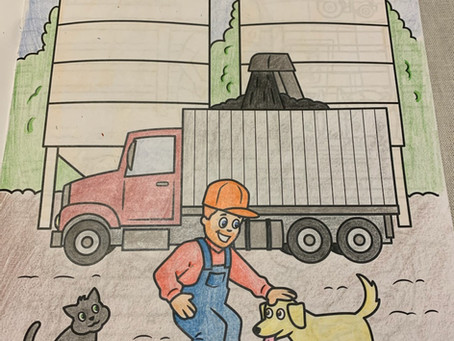 We are receiving some great entries for our Nielsen Seed's coloring contest!