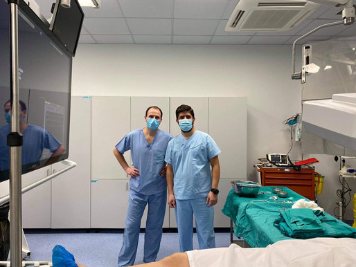 Πρώτη φορά στην Ελλάδα νέα επέμβαση για στηθάγχη/στεφανιαία νόσο διενέργησε ο Τζάνης Γιώργος