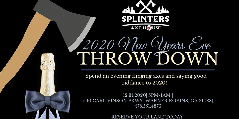 Celebrate New Years Eve at Splinters!