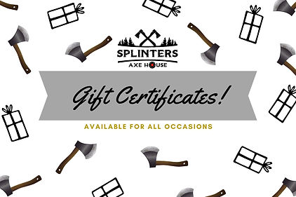 Crown and Gift Patterned Gift Certificat