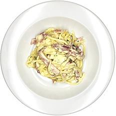 1/2 Spaghetti Carbonara