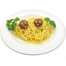 1/2 Spaghetti Bird's Nest