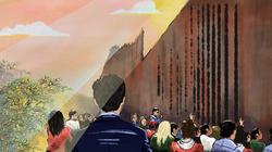 Wall scene