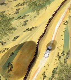 wall drive