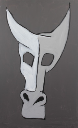 Study (Cow Skull) 2014