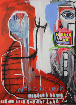 Untitled (Oh To Be The Cream) 2013