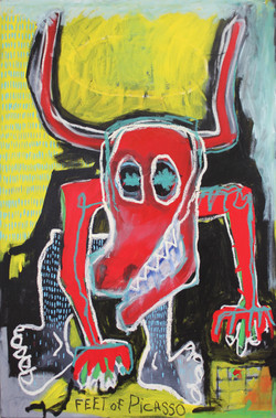 Untitled (Feet of Picasso) 2009