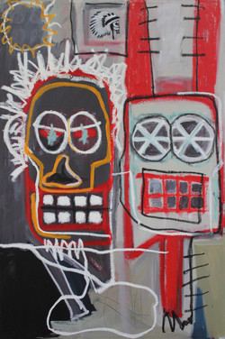 Untitled (Two Masks) 2009