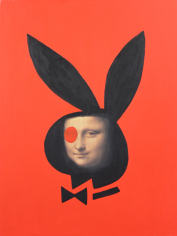Untitled (Bunny Mona Lisa) 2015