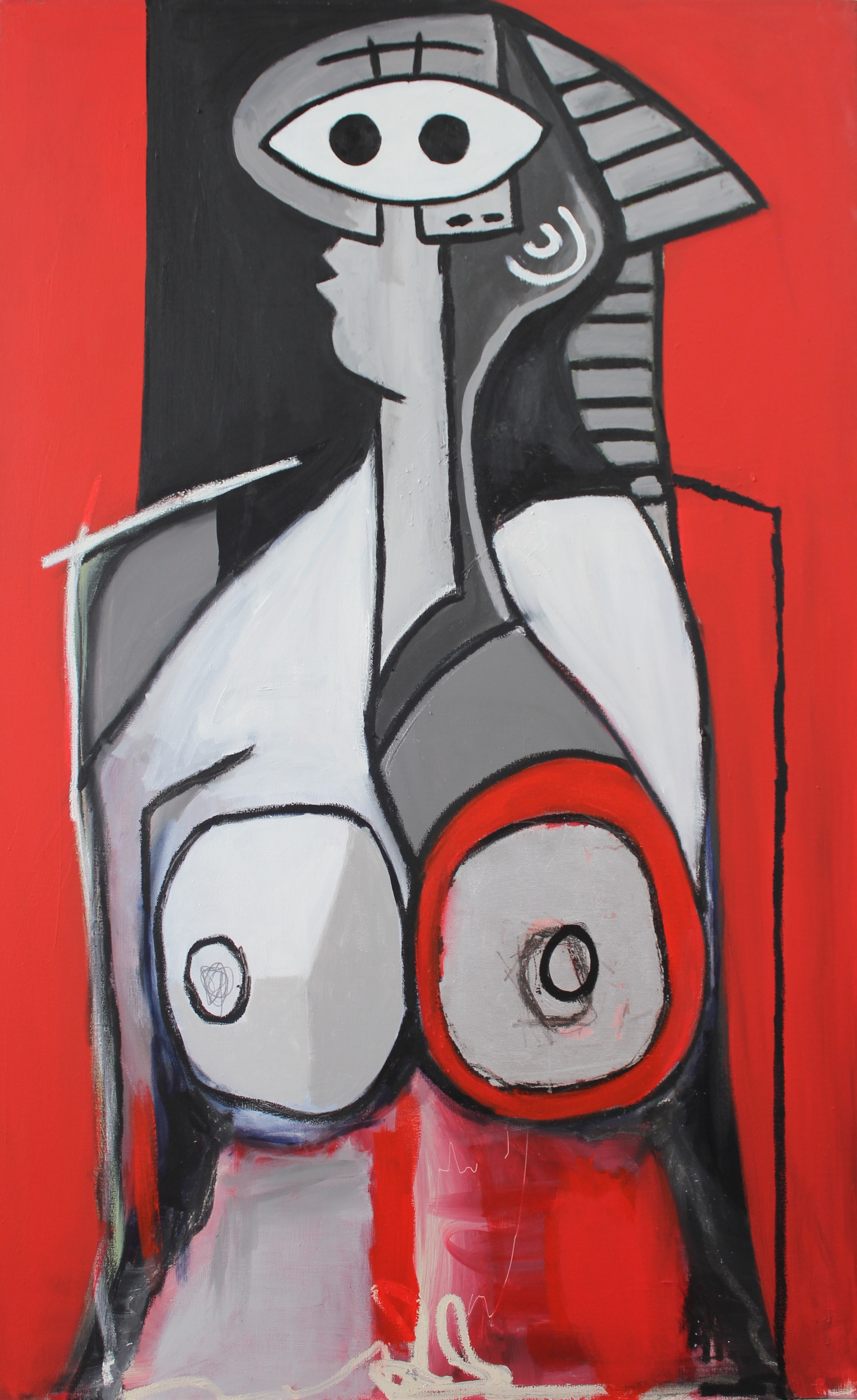 Untitled (Lady In Silver) 2014