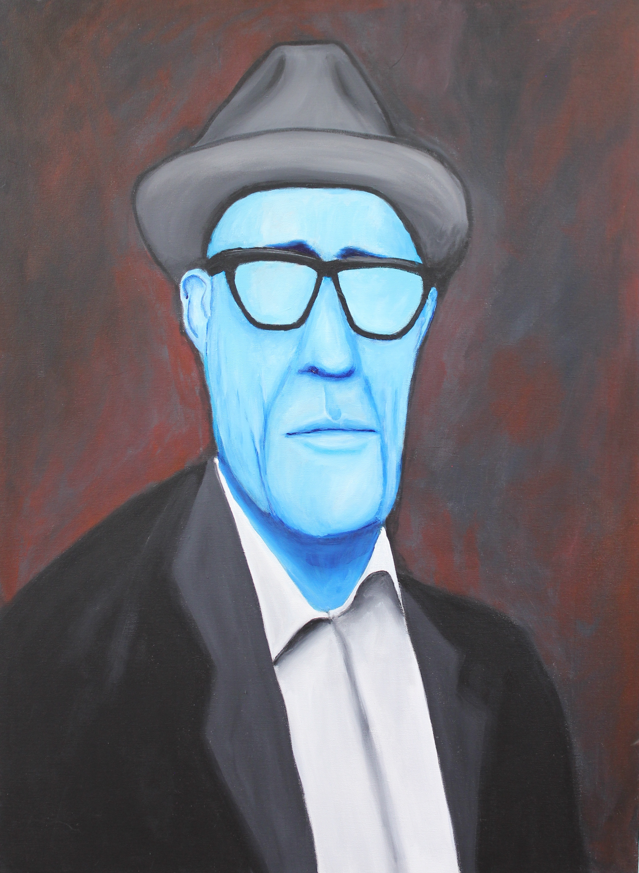 Untitled (Blue Face)
