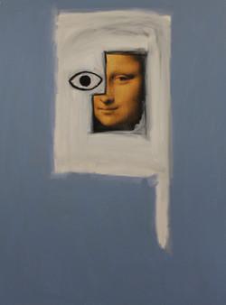 Untitled (Mona Lisa's Eye) 2015