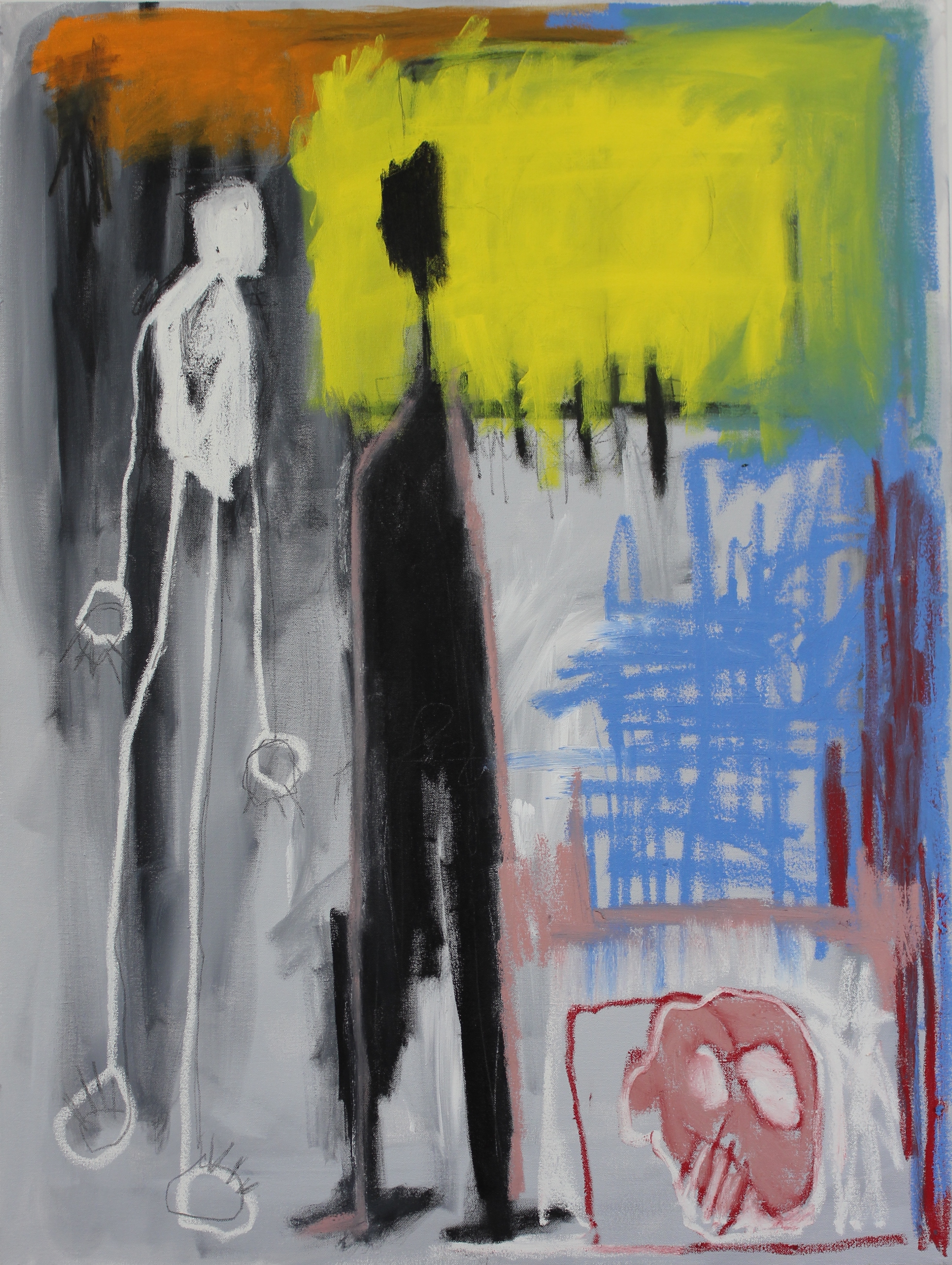 Untitled (Two Figures) 2012