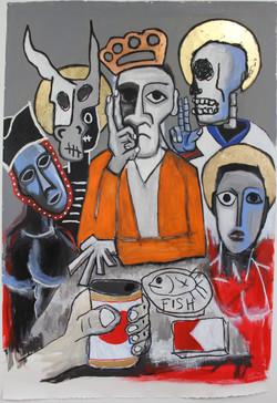 Last Supper ( Schaefer & Cigs) 2015