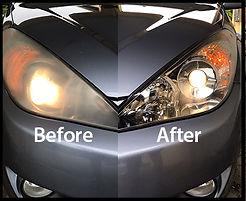 cloudy headlight restoration fort myers