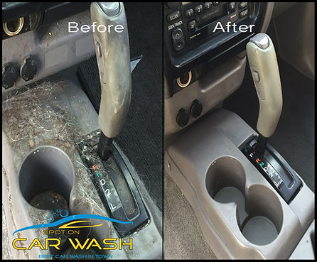 auto detail interior cleaning