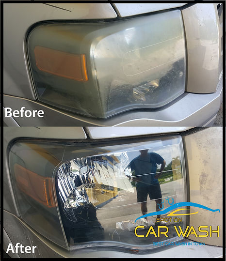 where can i get cloudy headlights fixed