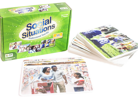 Social situations - 50 Photo Cards