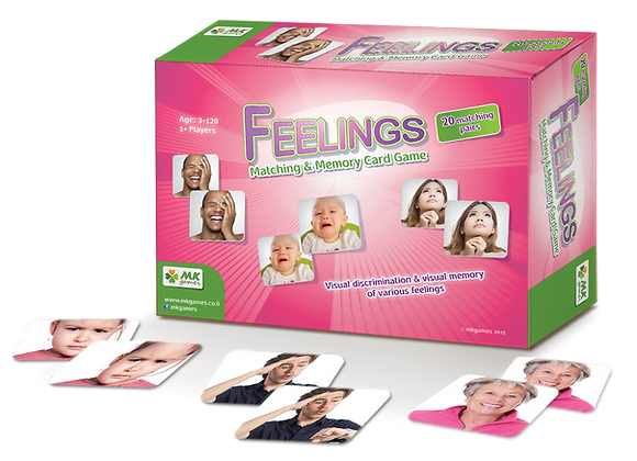 Feelings - Memory & Matching Game