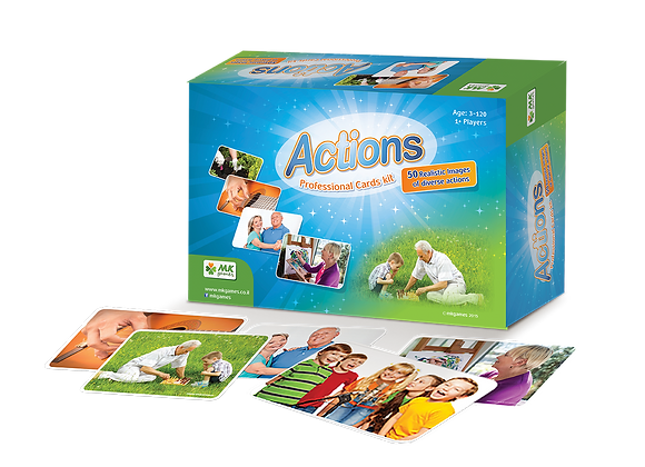 Actions - 50 Photo Cards For All Ages