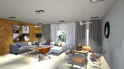 living room sketchup