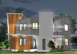 Modern villa design