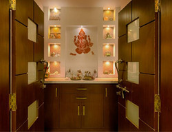 temple design for home