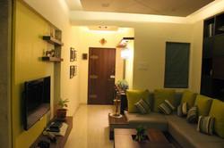 Modern Indian living room