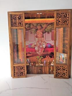 Indoor temple design