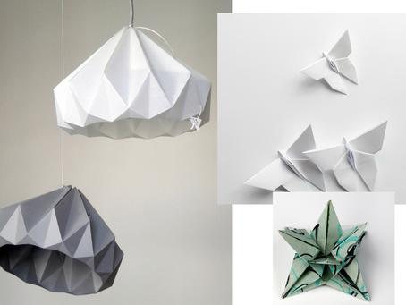 Origami in Architecture & Interior Designs