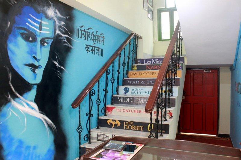 Repurposed stairway