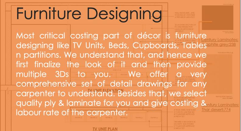 Furniture Designing