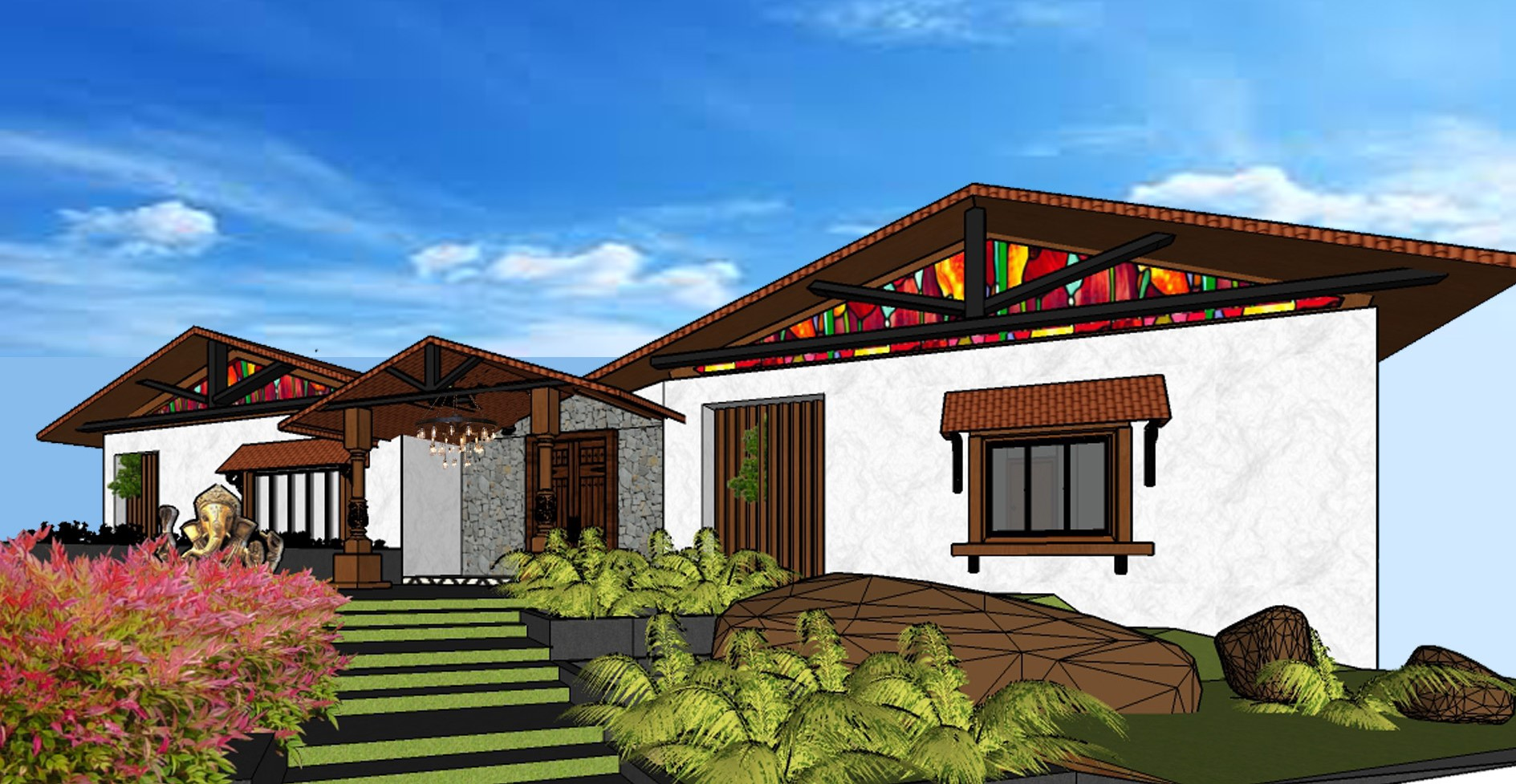 Resort Villa layout 2