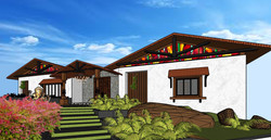Resort Villa layout 2