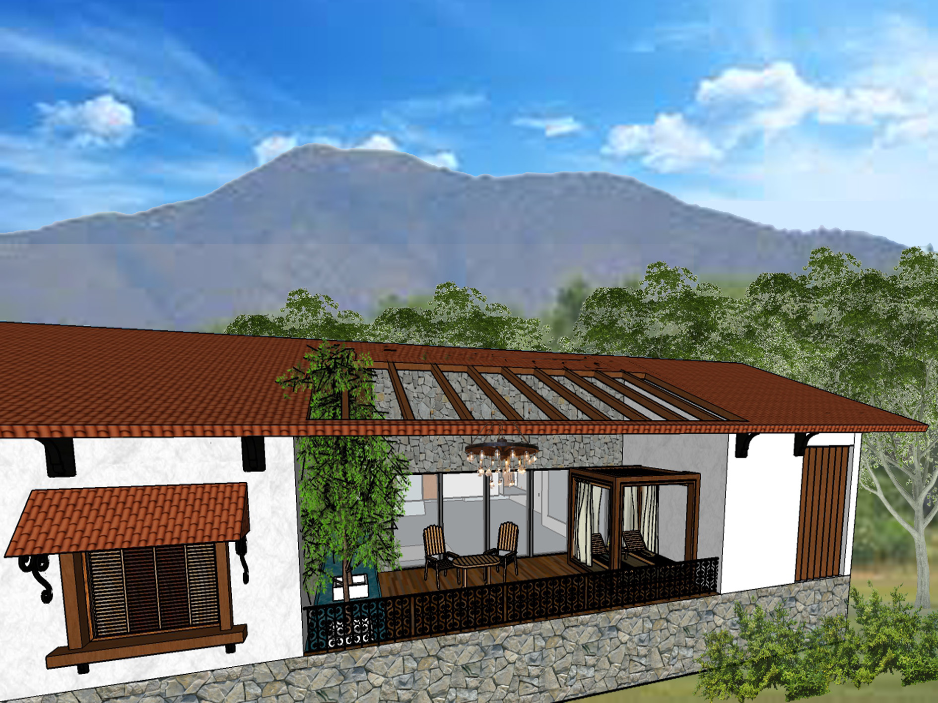 Resort Villa layout 1