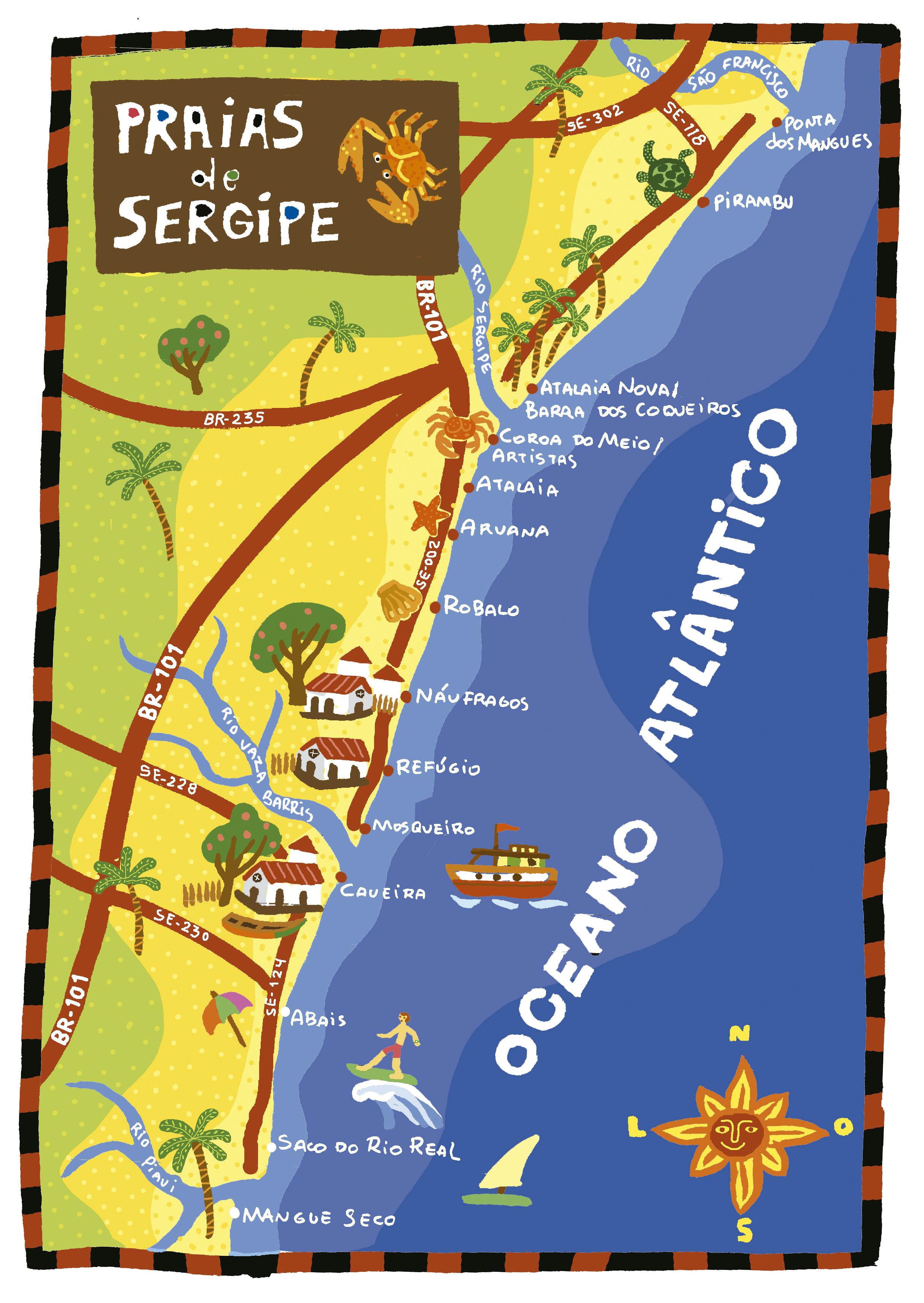 AF.Praias de Sergipe