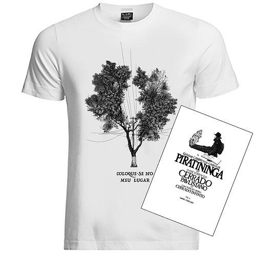 kit promocional - camiseta+livro