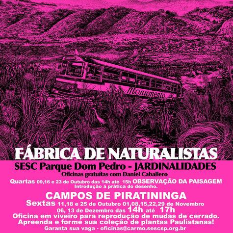 FÁBRICA DE NATURALISTAS