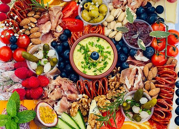 Grazable Antipasti Platter feeds 6 people