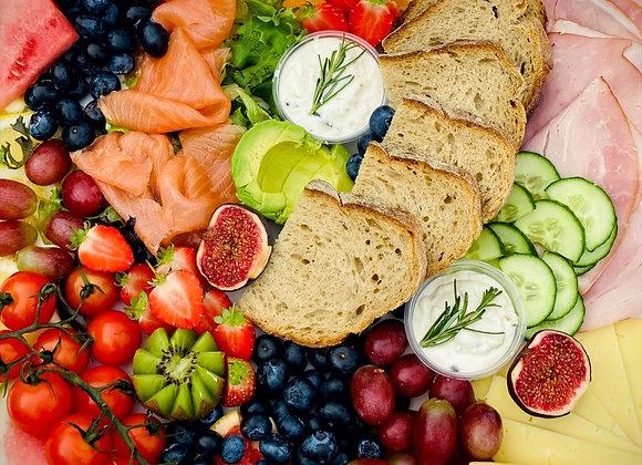 Grazable Brunch Platter Feeds 6 People