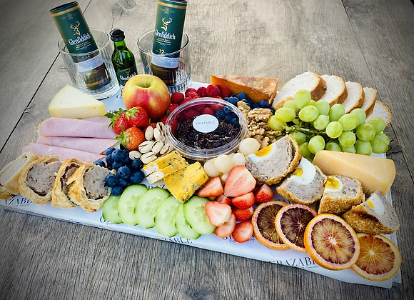 Father's Day Ploughman's Graze With Choice Of Gift From Monet Home And Lifestyle