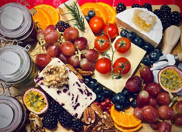 Grazable Cheese Board